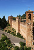City Walls, Gradara — Stock Photo