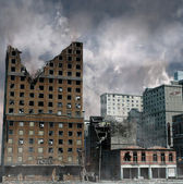 Urban Destruction — Stok fotoğraf