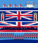 Jubilee Banners — Stock Vector