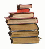 Ragged Book Stack — Stock Photo