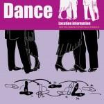 Dance Card — Stock Vector