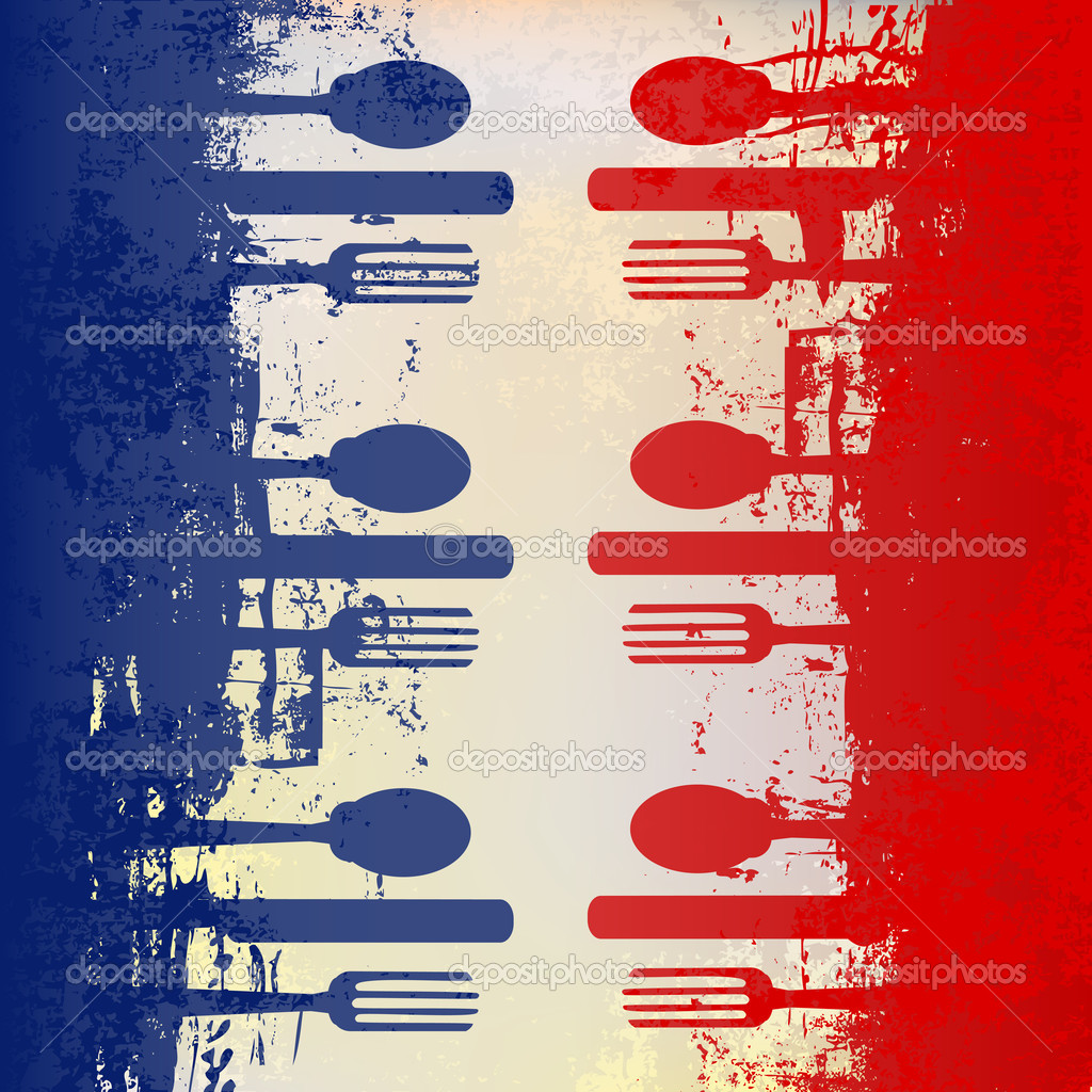 French Menu Template For a French Menu Template