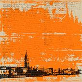 Venetian Vintage Vector Background — Stok Vektör