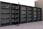 Computer Servers — Stock Photo