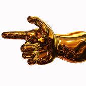 Direzione d'oro — Foto Stock