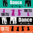 Royalty-Free Stock Vector Image: Ballroom Dancing Web Banner Templates