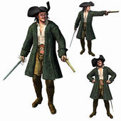 The Pirate Captain — Stock Photo