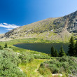 Stock Photo: Mountain Lake Landscape