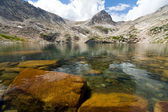 Clear Mountain Lake Landscape — Stock Photo