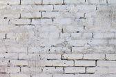 Beyaz tuğla duvar arka plan deseni — Stok fotoğraf