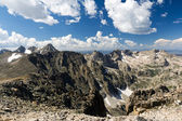 Panoramic View From Pawnee Peak In Colorado — Stock Photo
