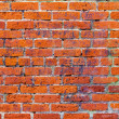 Royalty-Free Stock Photo: Grunge Red Brick Wall Texture Background