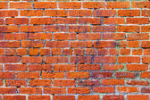 Grunge Red Brick Wall Texture Background — Stock Photo