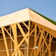 Buildings made ​​of wood. — Stockfoto #10329870