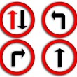 Stock Photo: Traffic signs.