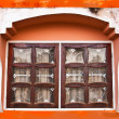Royalty-Free Stock Photo: Window on old brick wall.