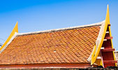 The roof of the temple. — Stock Photo
