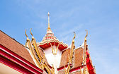 Roof of the temple. — Stock Photo