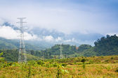 Elektriciteit post — Stockfoto