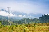Poste électricité — Photo