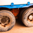 Truck tire. - Stock Photo