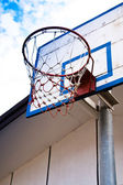 Basketball hoop. — Stock Photo