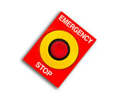 Emergency and stop — Stock Photo