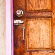 Stock Photo: Wooden doors.