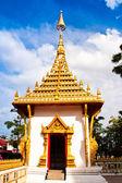 Teil von einem thai-tempel. — Stockfoto