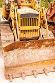 Caterpillar traktor bil — Stockfoto
