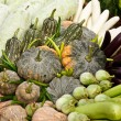 Stock Photo: Group of tropical vegetables