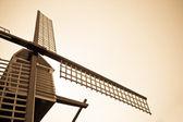 Wind turbine and sky — Stock Photo