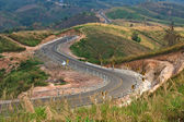 Straße am berg — Stockfoto