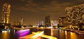 Bangkok, capital city of Thailand at night — Stock Photo