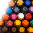 Stock Photo: Stack of oil pastels