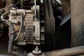 Old generator — Stock Photo