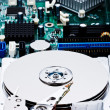 Opened harddisk — Stock Photo