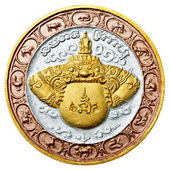 Native Thai style amulet art — Stock Photo