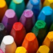 Stack of oil pastels — Stock Photo
