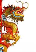 Estátua de dragão — Foto Stock