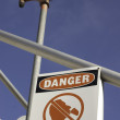 Stock Photo: Danger do not drink