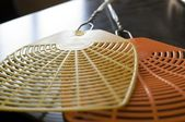 Two fly swatters — Stock Photo