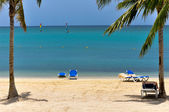 Beautiful caribbean lagoon — Stock Photo
