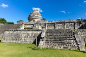 Mayan ruins - astronomical observatory — Stock Photo