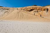 Sandy slope — Stock Photo
