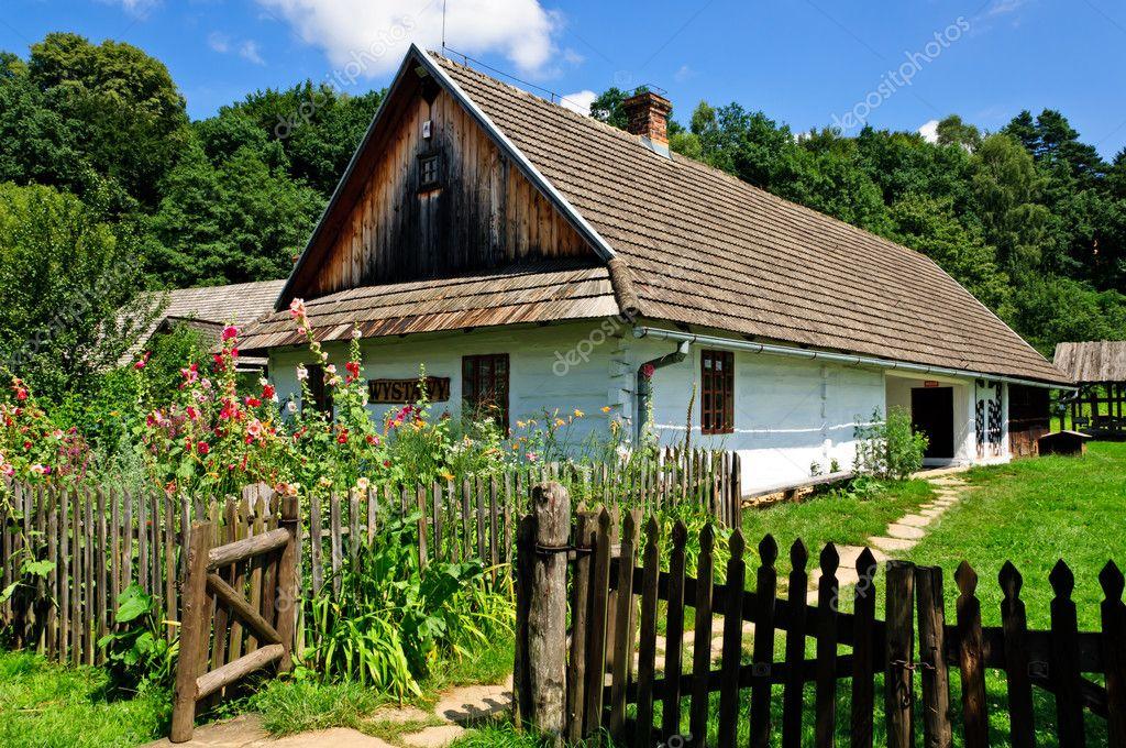 传统波兰农村别墅