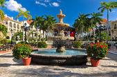Caribbean hotel resort, mexico — Stock Photo
