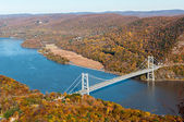 Bear Mountain bridge — Stock Photo