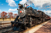Steam engine train — Stock Photo
