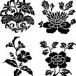 Floral swirl ornate pattern — Stock Vector #10068262